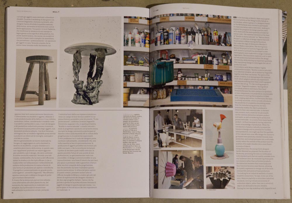 Variomold published in DOMUS
